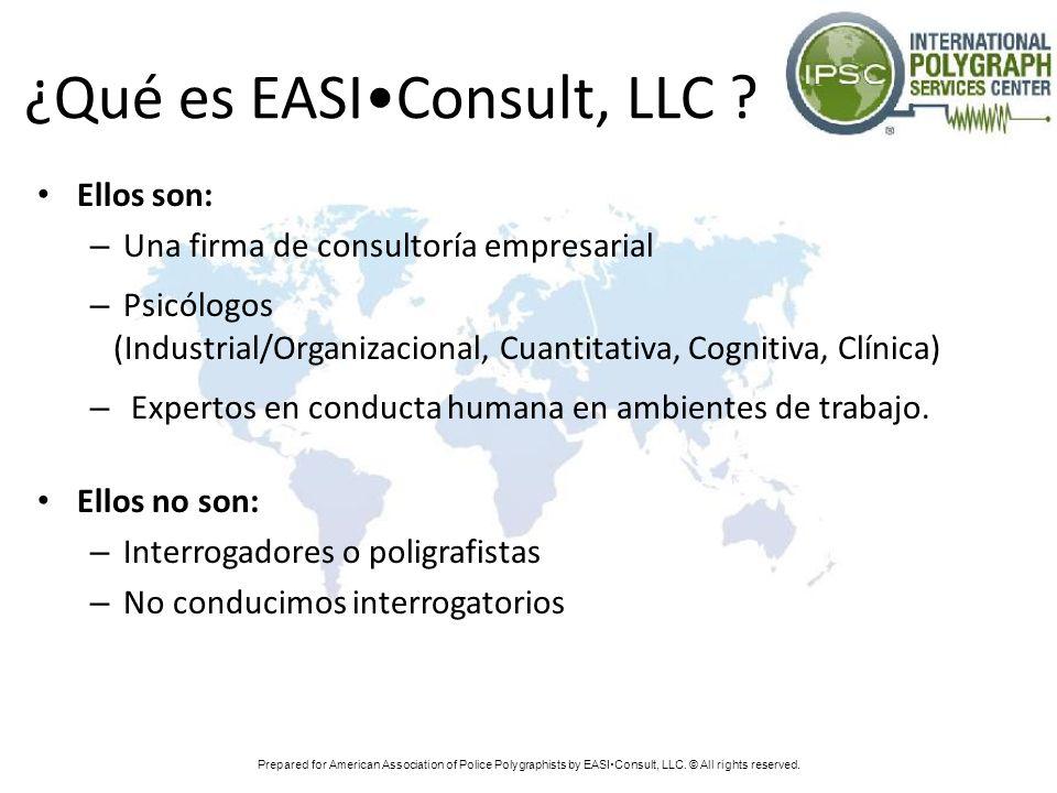 ¿Qué es EASI•Consult, LLC