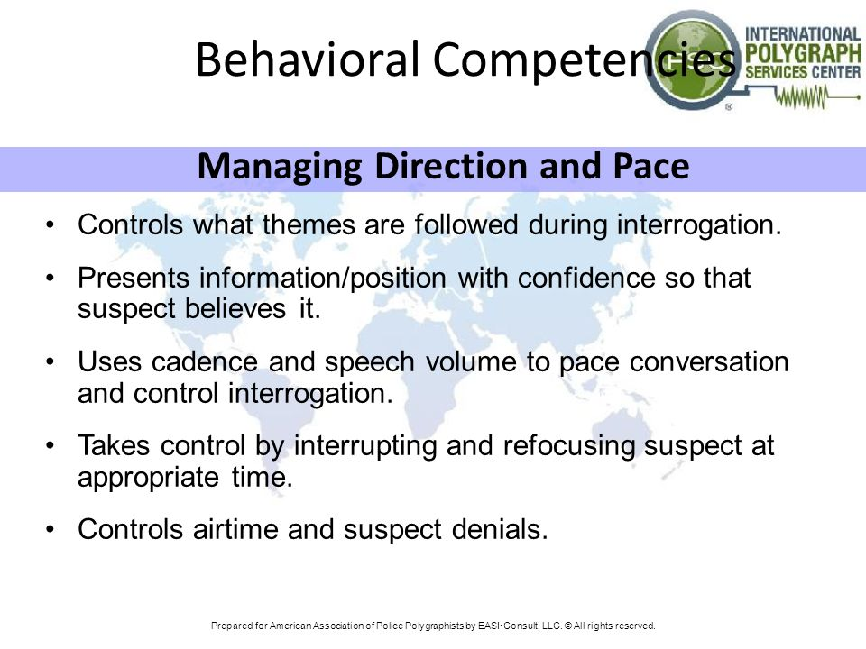 Behavioral Competencies