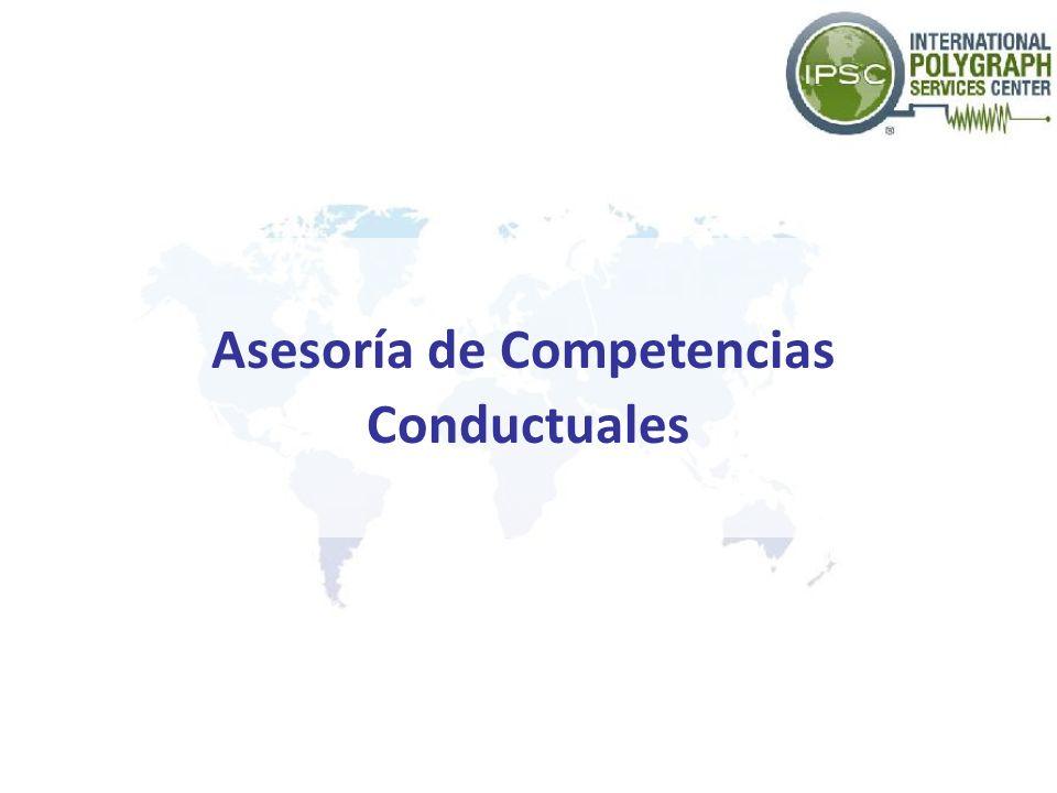 Asesoría de Competencias Conductuales