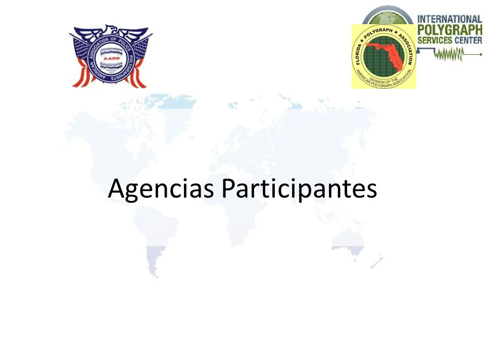 Agencias Participantes