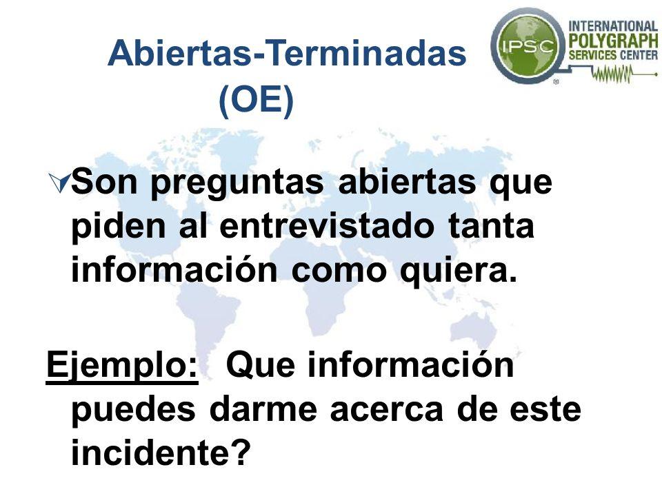 Abiertas-Terminadas (OE)
