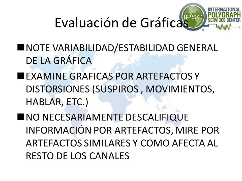 Evaluación de Gráficas