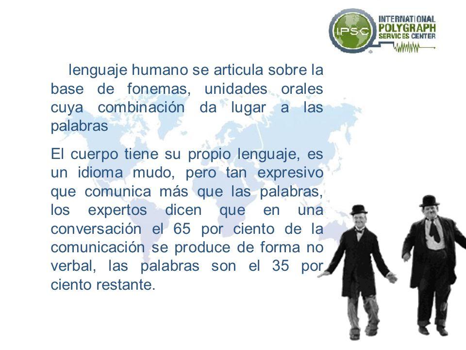 El lenguaje humano se articula sobre la base de fonemas, unidades orales cuya combinación da lugar a las palabras
