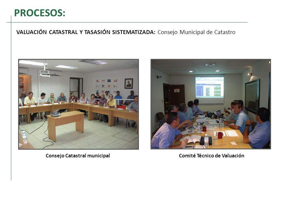 Consejo Catastral municipal Comité Técnico de Valuación