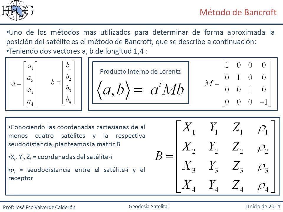 Producto interno de Lorentz