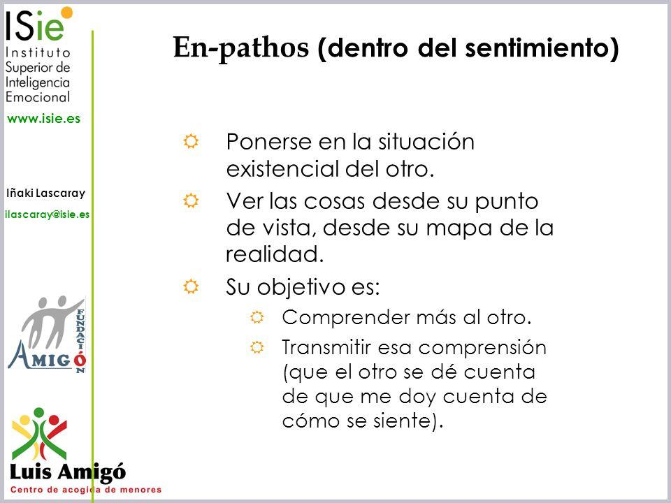 En-pathos (dentro del sentimiento)
