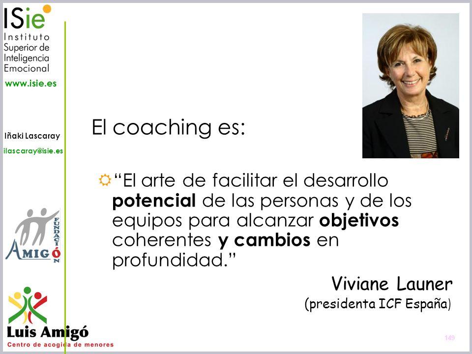 El coaching es: