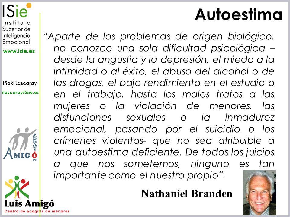 Autoestima Nathaniel Branden
