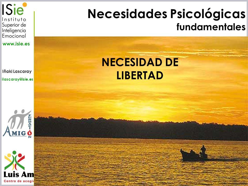Necesidades Psicológicas fundamentales