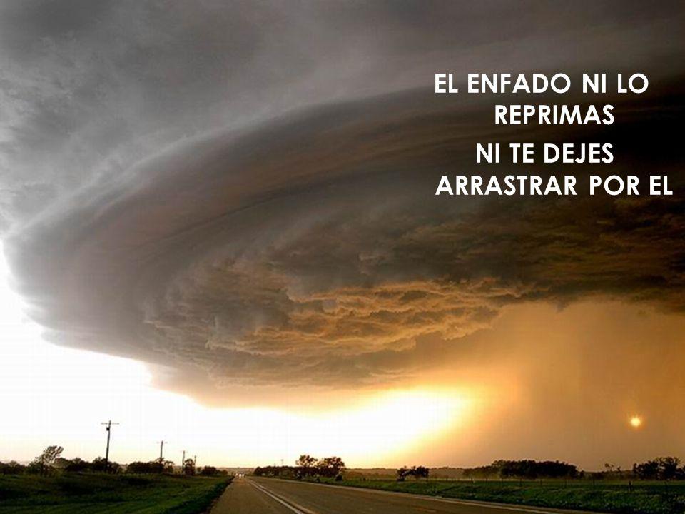 EL ENFADO NI LO REPRIMAS NI TE DEJES ARRASTRAR POR EL