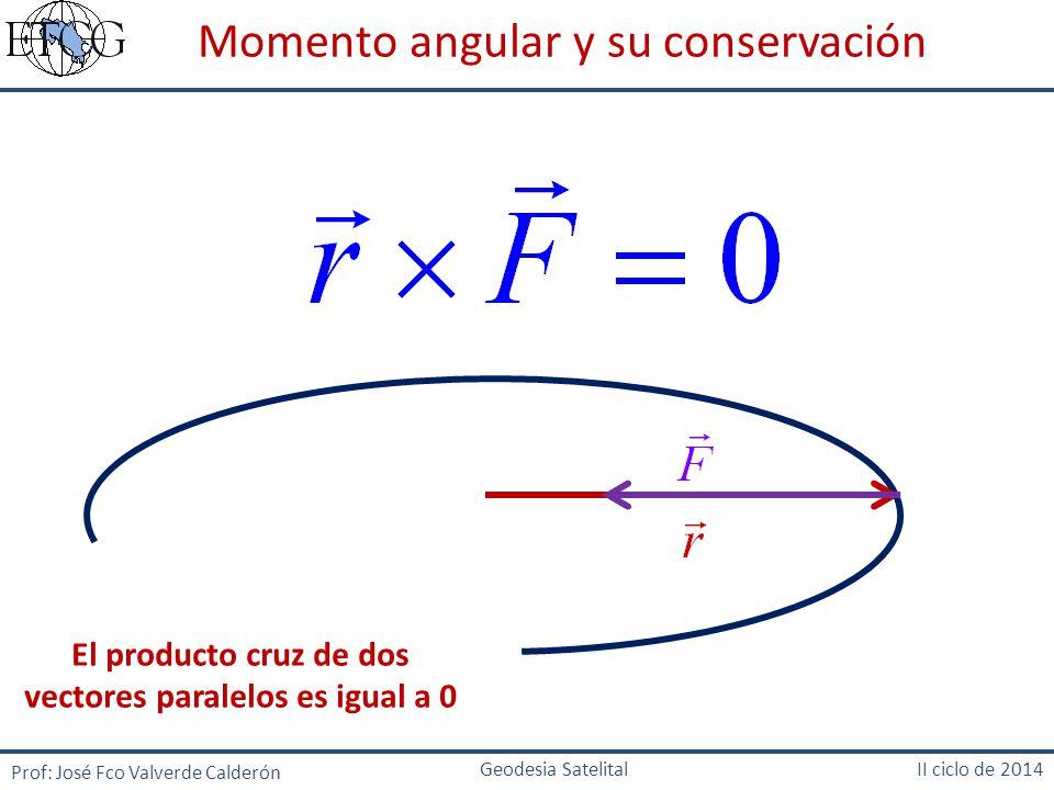 El producto cruz de dos vectores paralelos es igual a 0