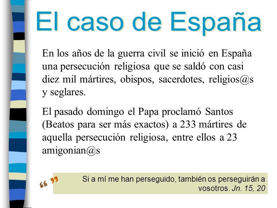 El caso de España