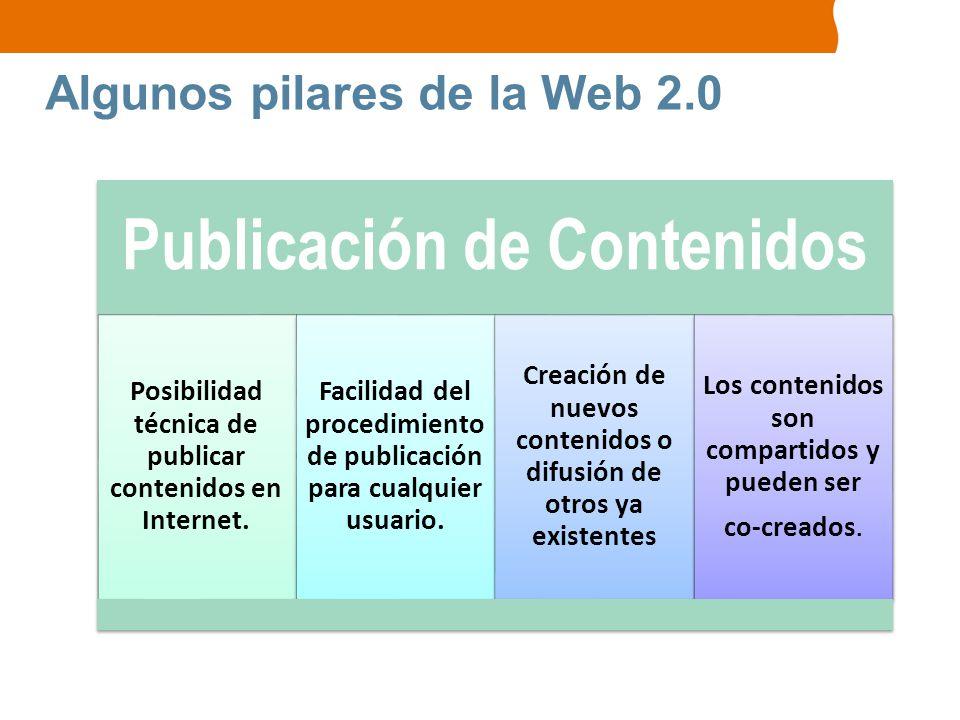 Algunos pilares de la Web 2.0
