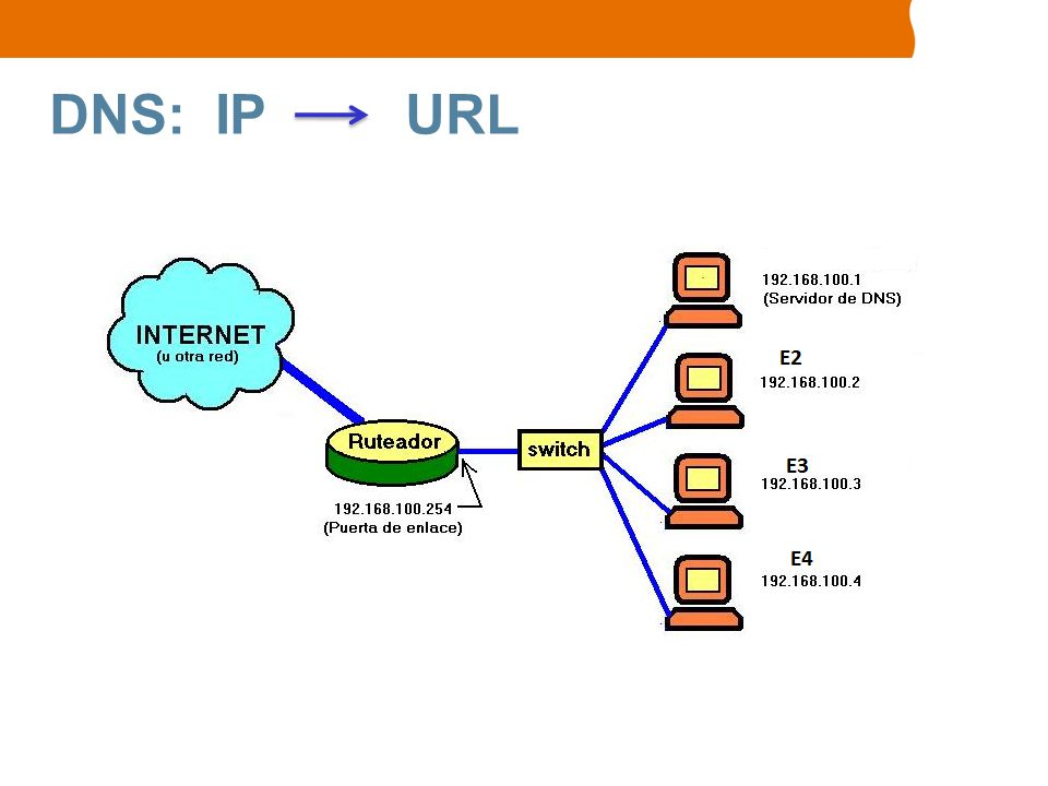 DNS: IP URL
