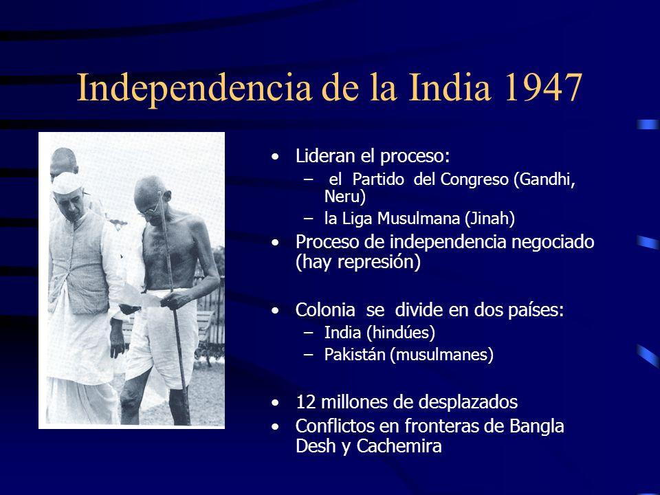 Independencia de la India 1947