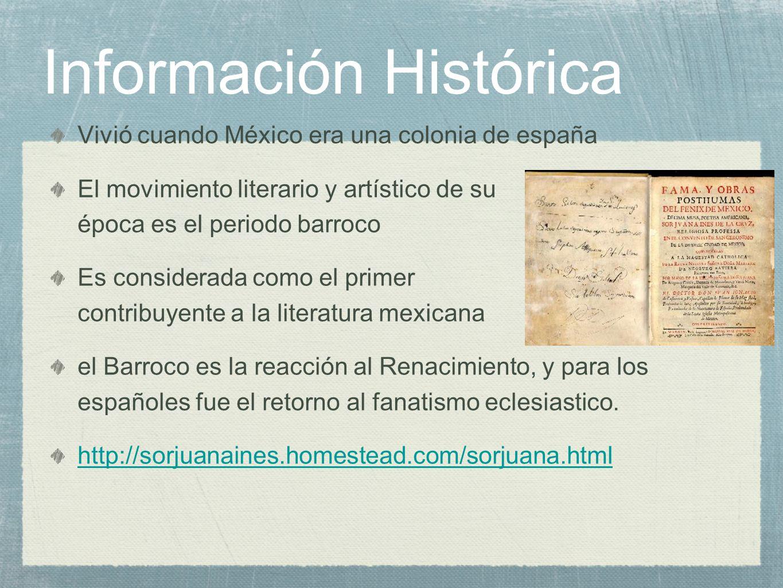 Información Histórica