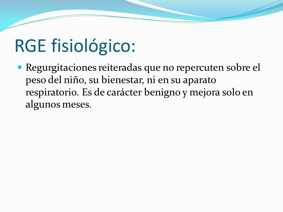 RGE fisiológico: