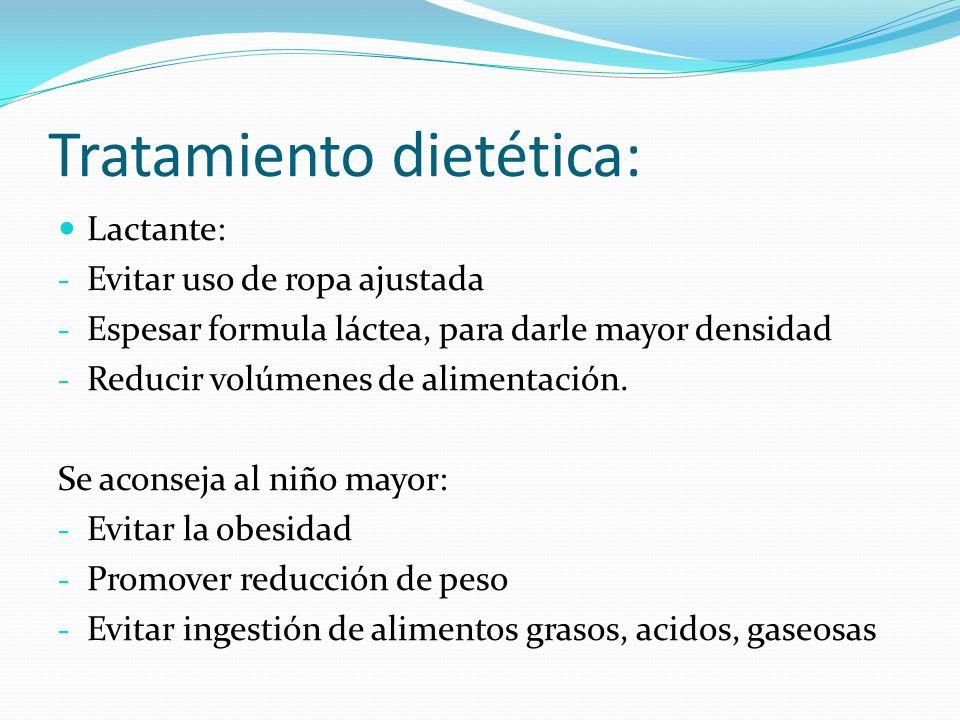 Tratamiento dietética: