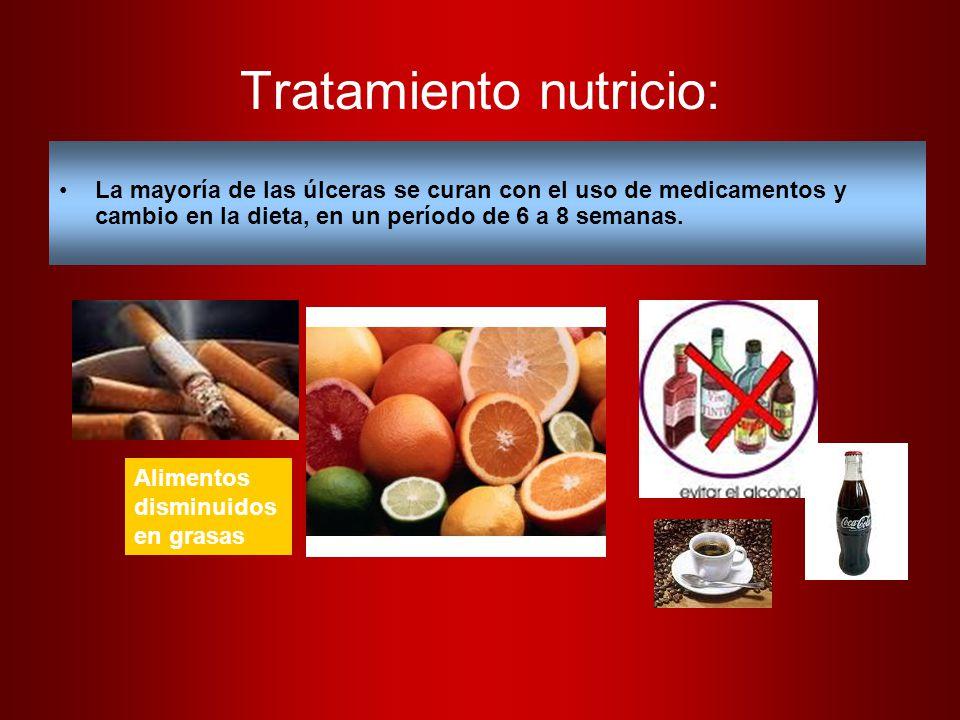 Tratamiento nutricio: