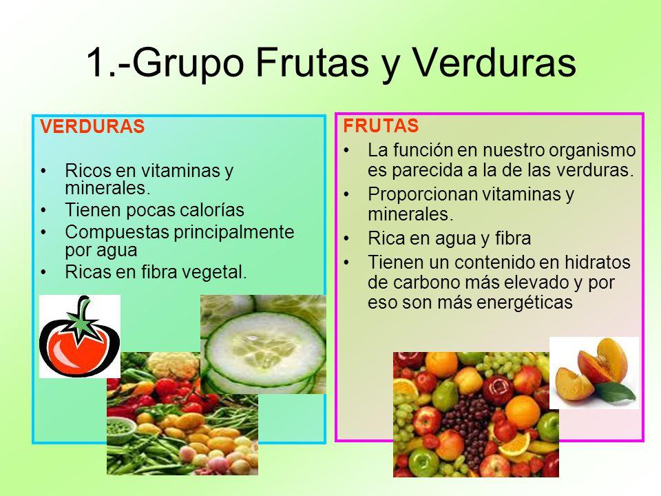 1.-Grupo Frutas y Verduras