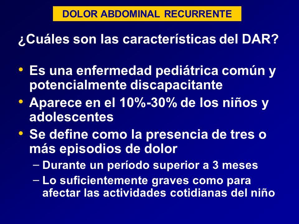 ¿Cuáles son las características del DAR