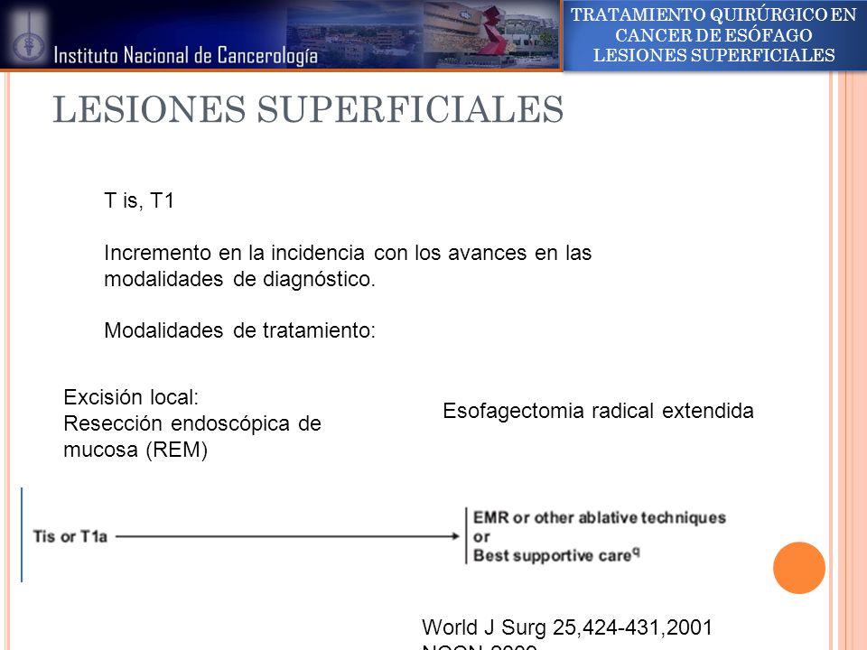 LESIONES SUPERFICIALES