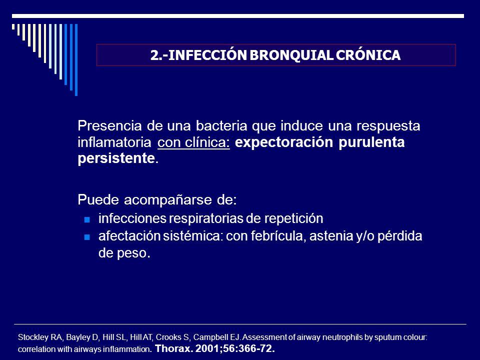 2.-INFECCIÓN BRONQUIAL CRÓNICA