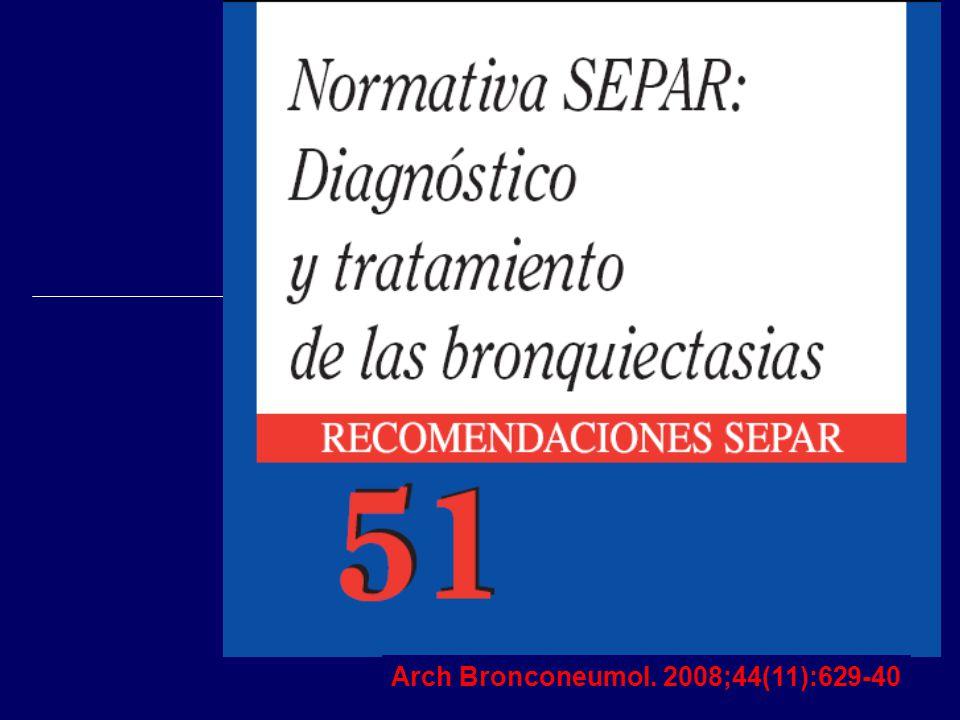 Arch Bronconeumol. 2008;44(11):629-40