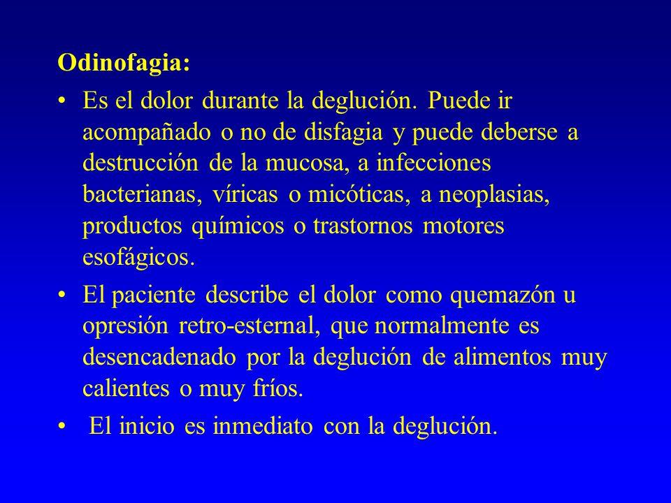 Odinofagia: