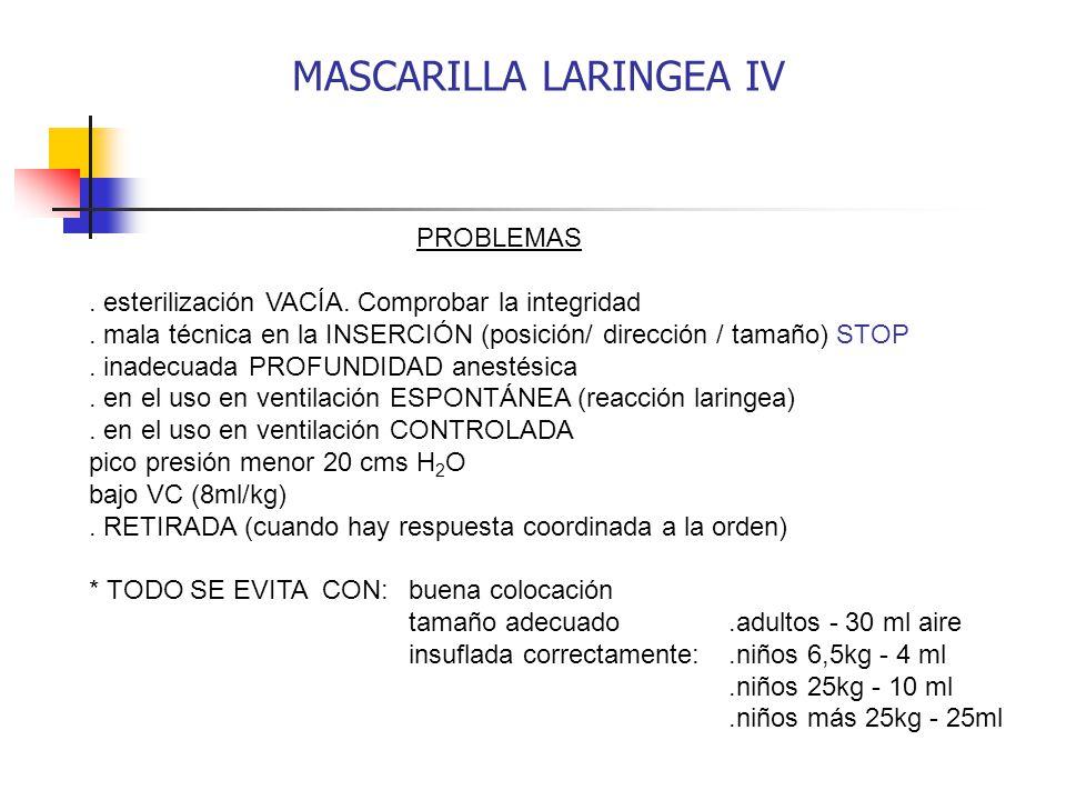MASCARILLA LARINGEA IV