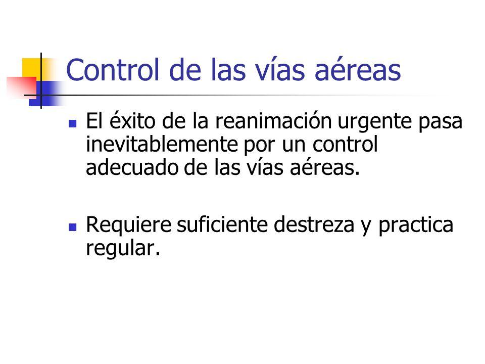 Control de las vías aéreas