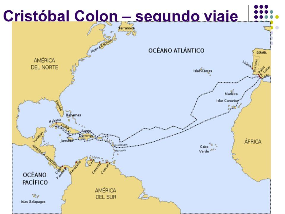 Cristóbal Colon – segundo viaje