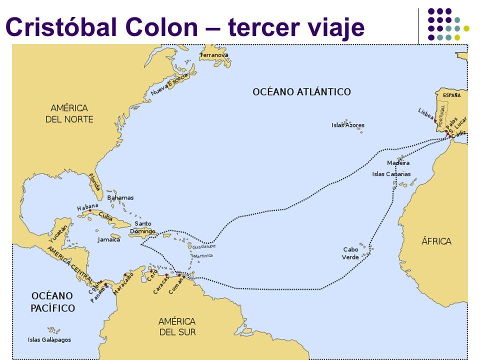 Cristóbal Colon – tercer viaje