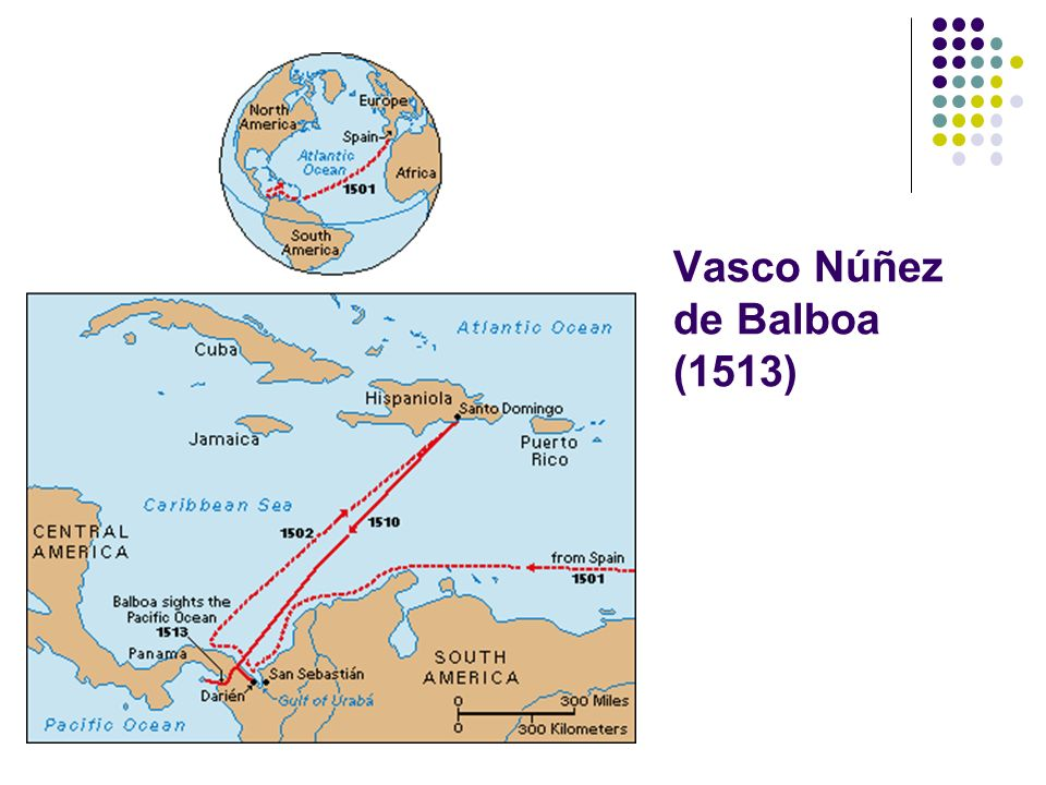 Vasco Núñez de Balboa (1513)