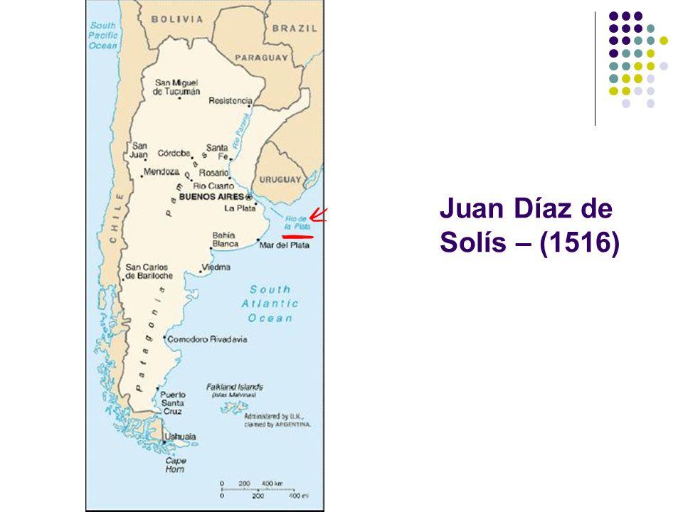 Juan Díaz de Solís – (1516)