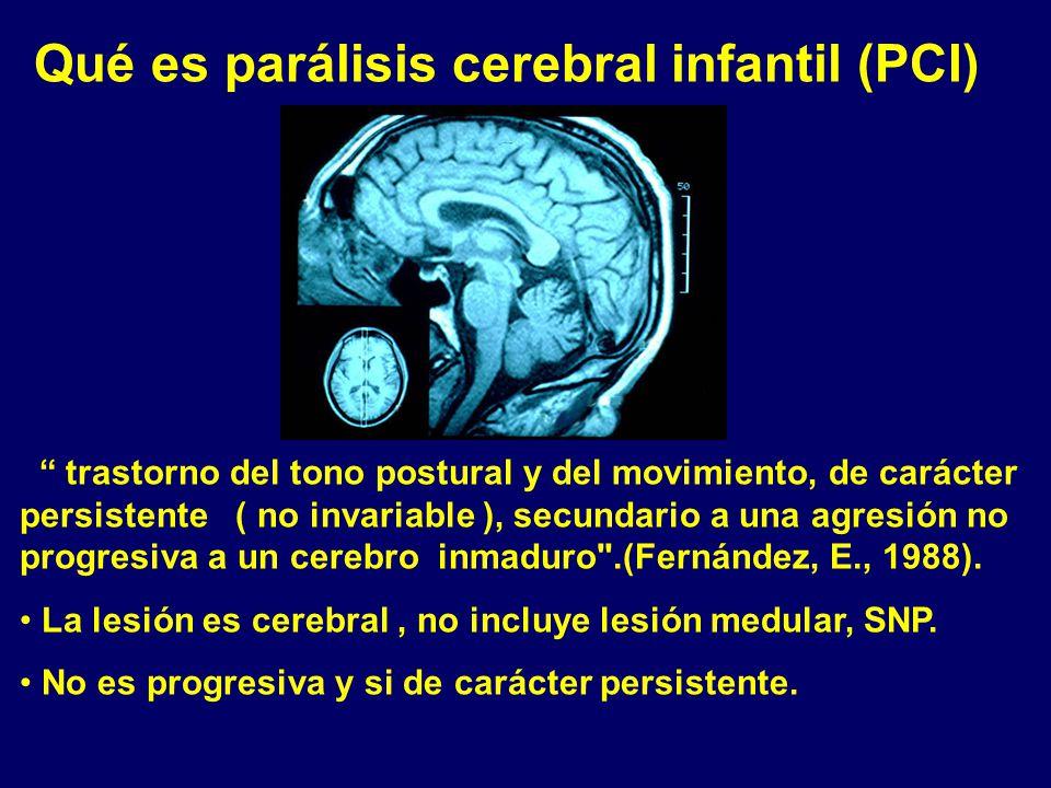 Qué es parálisis cerebral infantil (PCI)