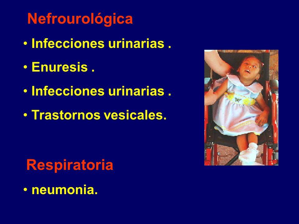 Nefrourológica Infecciones urinarias . Enuresis .