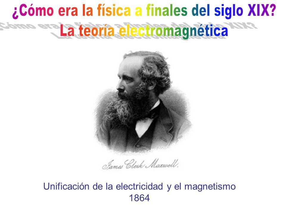 ¿Cómo era la física a finales del siglo XIX