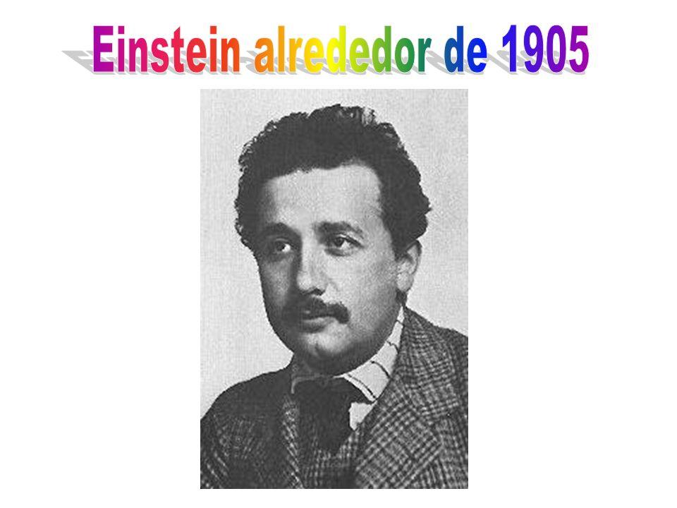 Einstein alrededor de 1905
