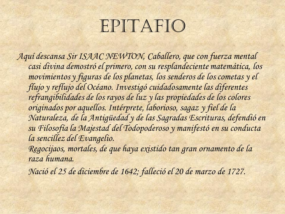 EPITAFIO