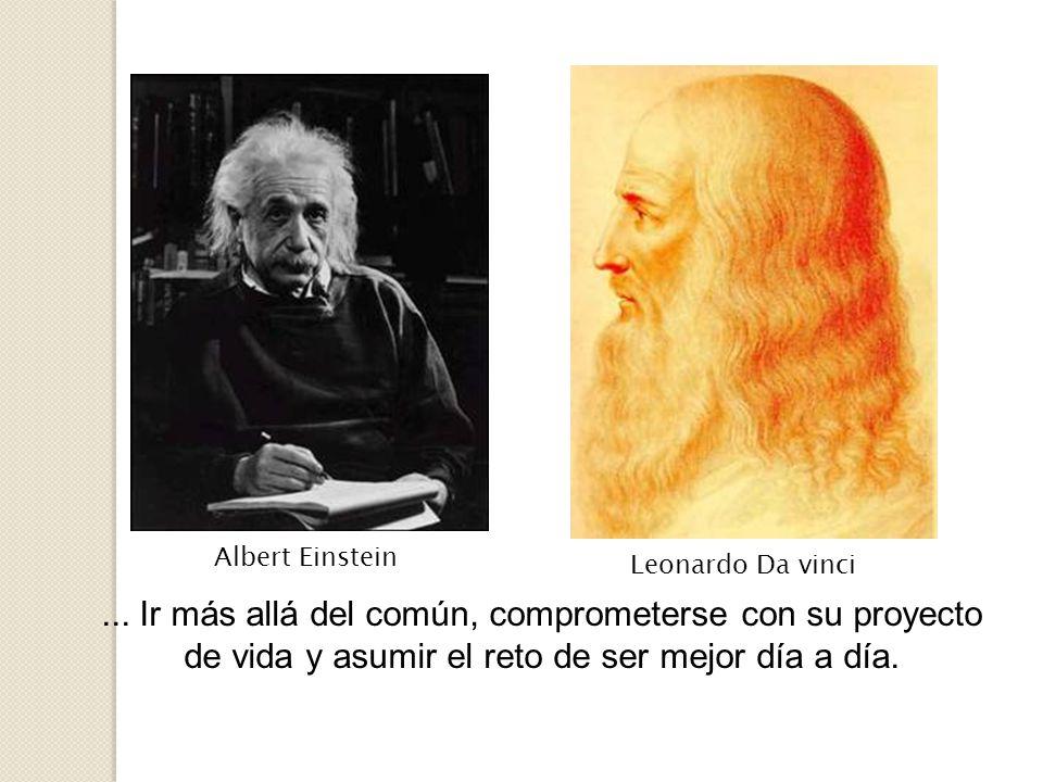 Albert Einstein Leonardo Da vinci. ...