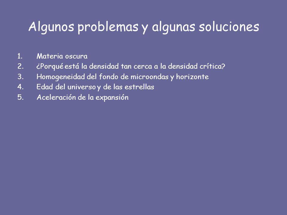 Algunos problemas y algunas soluciones