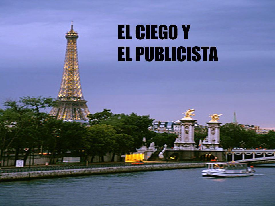 EL CIEGO Y EL PUBLICISTA