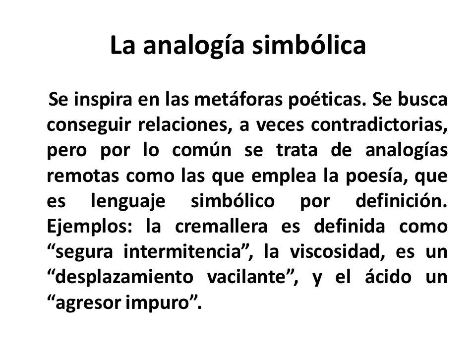 La analogía simbólica