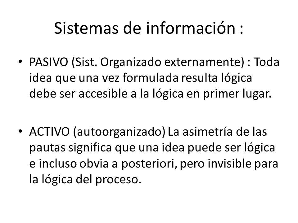 Sistemas de información :