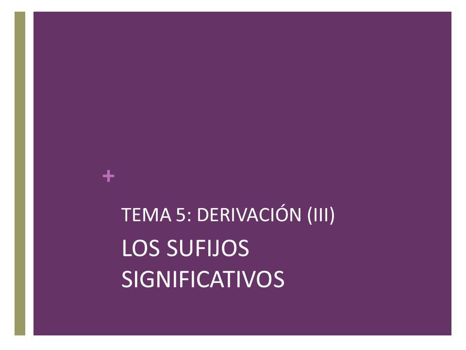 TEMA 5: DERIVACIÓN (III)