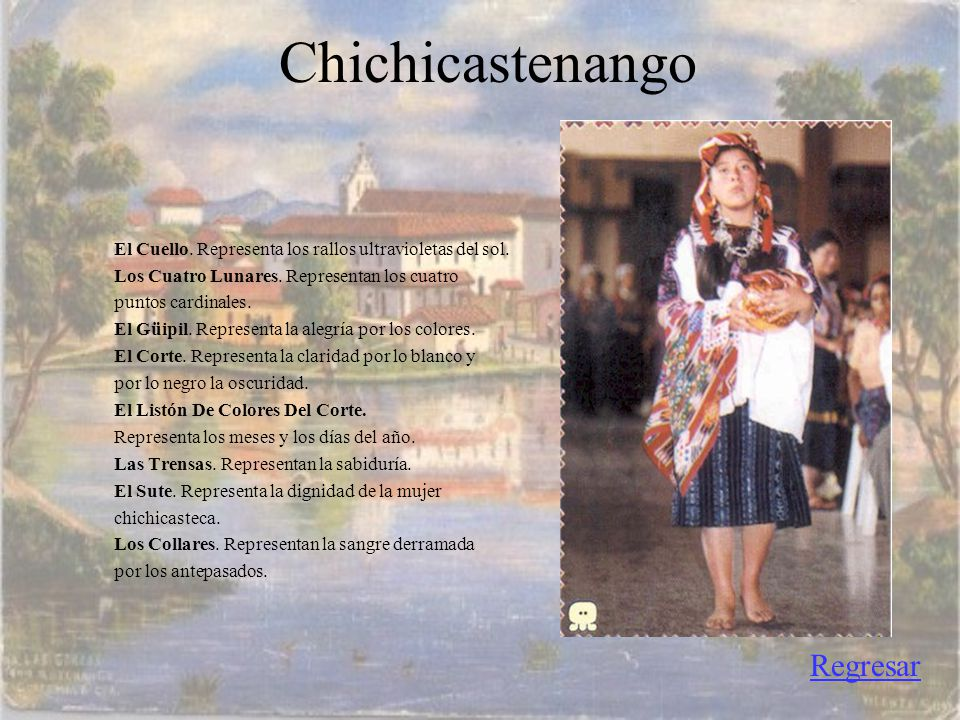 Chichicastenango Regresar