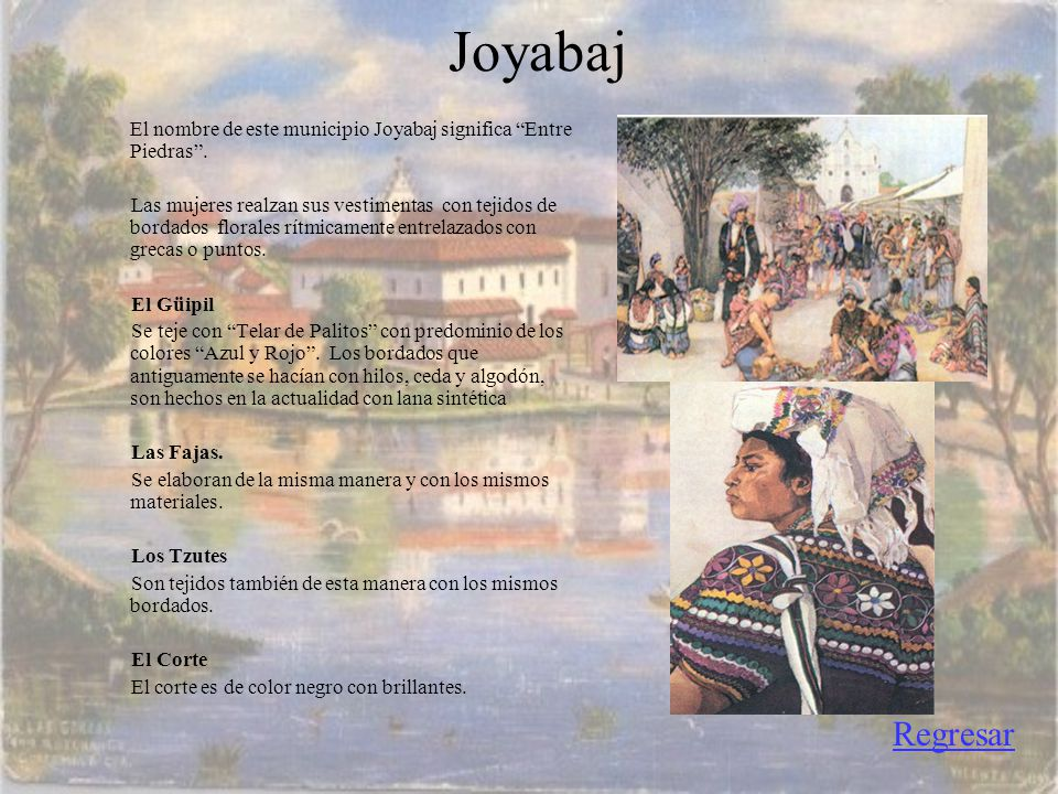 Joyabaj El nombre de este municipio Joyabaj significa Entre Piedras .