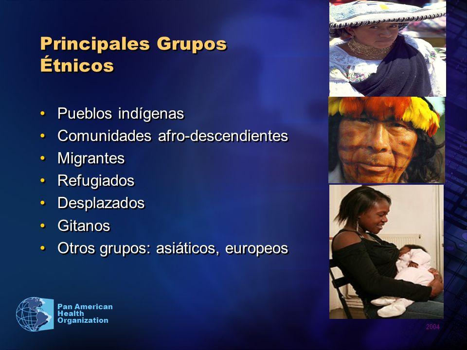 Principales Grupos Étnicos