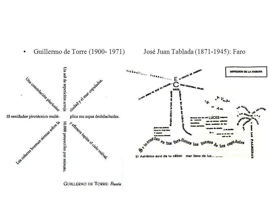 Guillermo de Torre (1900- 1971) José Juan Tablada (1871-1945): Faro